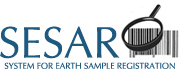 System for Earth Sample Registration